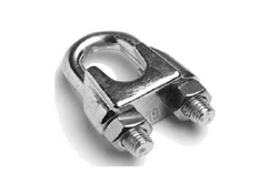 Зажим для стальных канатов DIN 741 М16
